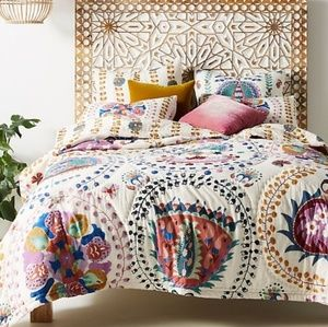 ANTHROPOLOGIE DESLISSA QUEEN QUILT